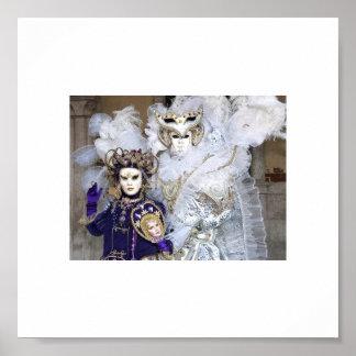 Masquerade Masks Poster