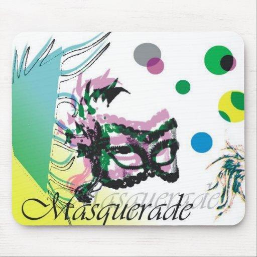 Masquerade Mouse Pad