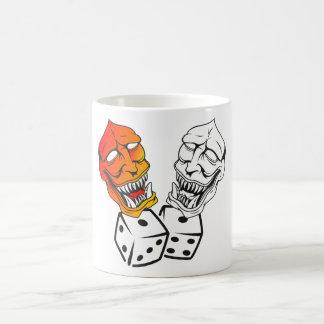 Masquerade Classic White Coffee Mug
