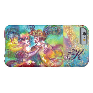 MASQUERADE NIGHT / CARNIVAL DANCE MONOGRAM BARELY THERE iPhone 6 CASE