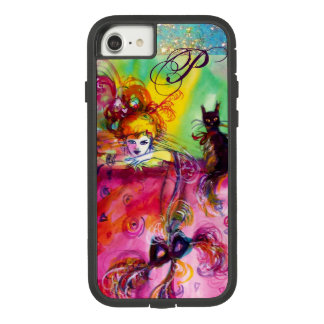MASQUERADE NIGHT / LADY WITH BLACK CAT MONOGRAM Case-Mate TOUGH EXTREME iPhone 8/7 CASE