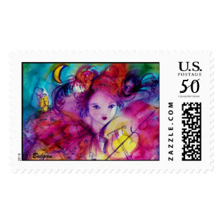 MASQUERADE NIGHT / Venetian Carnival Birthday Postage