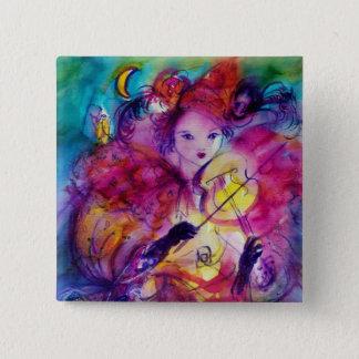 MASQUERADE NIGHT / Venetian Carnival Button