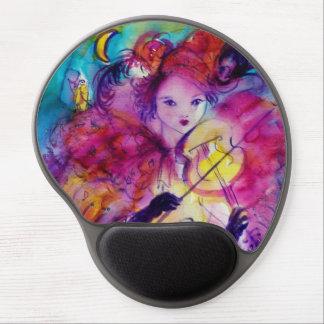 MASQUERADE NIGHT / Venetian Carnival Gel Mouse Pad