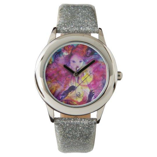MASQUERADE NIGHT / Venetian Carnival Masks Wrist Watches