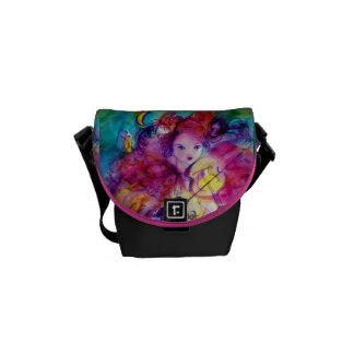 MASQUERADE NIGHT / Venetian Carnival Messenger Bag