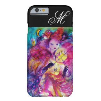 MASQUERADE NIGHT / Venetian Carnival Monogram Barely There iPhone 6 Case