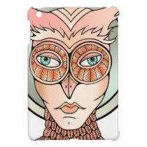 Masquerade Owl iPad Mini Cases