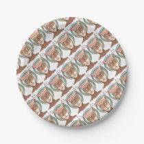 Masquerade Owl Paper Plate