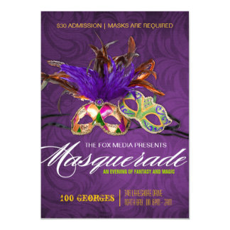 Masquerade Party Invitation