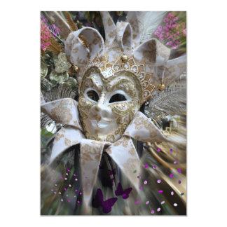 Masquerade Party Invite