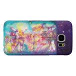 MASQUERADE PARTY,Mardi Gras Masks,Dance,Music Samsung Galaxy S6 Cases