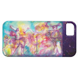 MASQUERADE PARTY,Mardi Gras Masks,Dance,Music iPhone 5 Cover