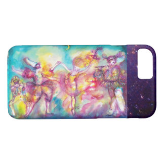 MASQUERADE PARTY,Mardi Gras Masks,Dance,Music iPhone 8/7 Case