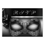Masquerade Party RSVP Invite