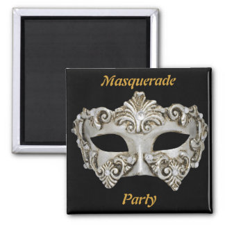 Masquerade Party Save the Date Magnet