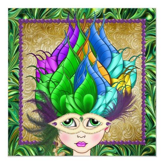 Masquerade Party - SRF Card