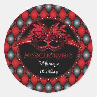 Masquerade Party Stickers