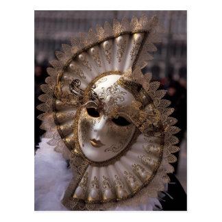 Masquerade Postcard