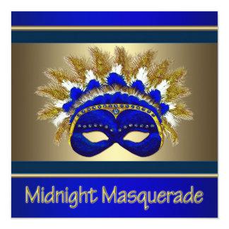 Masquerade Prom Invitations