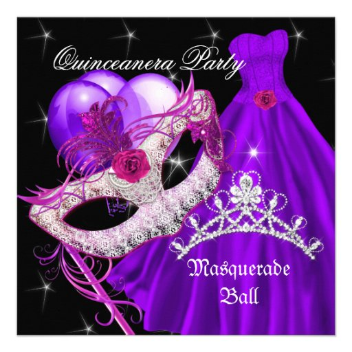 Masquerade Quinceanera Invitations correctly perfect ideas for your invitation layout