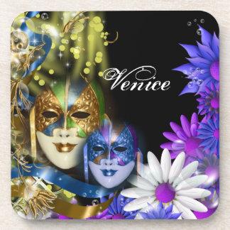 Masquerade quinceanera Venetian masks Coaster