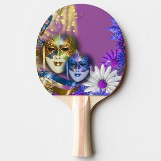 Masquerade quinceanera Venetian masks girls Ping-Pong Paddle
