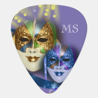 Masquerade quinceanera Venetian masks Guitar Pick