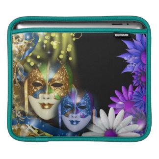 Masquerade quinceanera Venetian masks iPad Sleeve