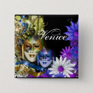 Masquerade quinceanera Venetian masks PERSONALIZE Button