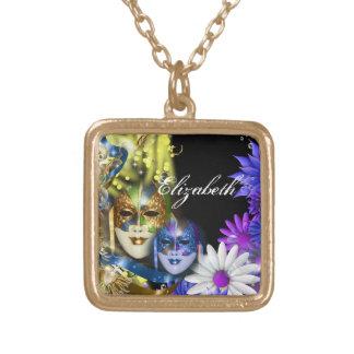 Masquerade quinceanera Venetian masks PERSONALIZE Jewelry