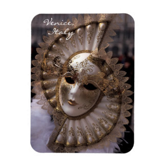 Masquerade Rectangular Photo Magnet