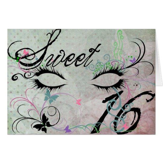 Masquerade Sweet 16 Invitation Greeting Card