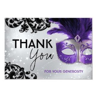Masquerade Thank You Cards