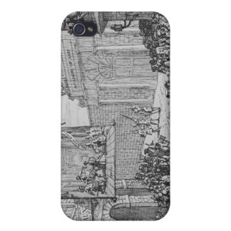 Masquerades and Operas, Burlington Gate, 1724 Covers For iPhone 4