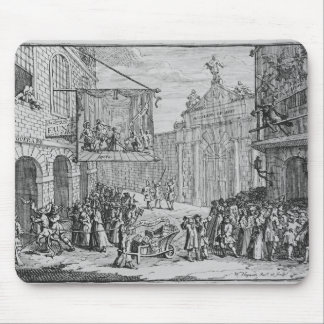 Masquerades and Operas, Burlington Gate, 1724 Mouse Pad