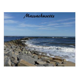 Mass Coastline Postcard