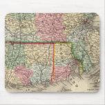 Mass, Conn, RI Map by Mitchell Mouse Pad
