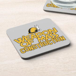 Mass Construction custom coasters