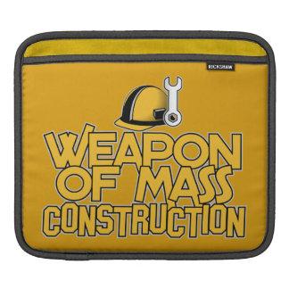 Mass Construction custom iPad sleeve