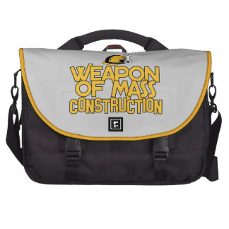 Mass Construction custom laptop bag