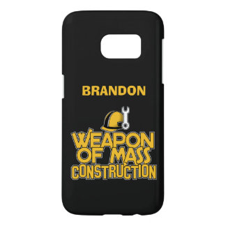 Mass Construction custom monogram phone cases