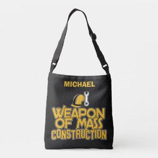Mass Construction custom name bags