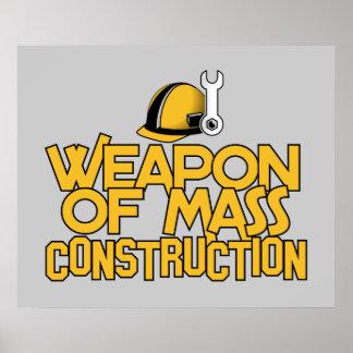 Mass Construction custom poster