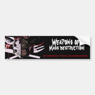 Mass Destruction Bumper Sticker Car Bumper Sticker
