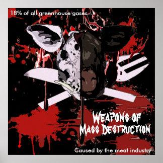 Mass Destruction Large Poster