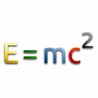 Mass-Energy Equivalence Formula Statuette