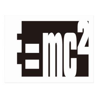 Mass–energy equivalence postcard
