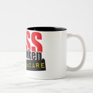 Mass Has Spoken - No ObamaCare Two-Tone Coffee Mug