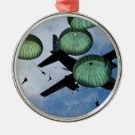 Mass Jump Mission, Parachutes, U.S. Army Ornaments